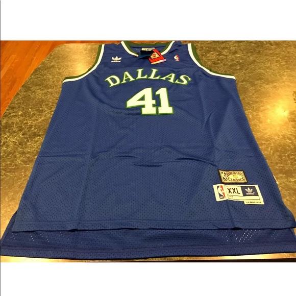 adidas Shirts | Adidas Dirk Nowitzki Dallas Mavericks Jersey Xxl ...